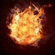 Hot fires flame in motion — Stock Photo #24014755