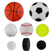 Sport balls collection — Foto de Stock