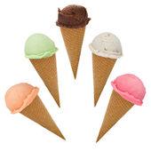 冰激淋勺 — 图库照片