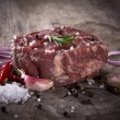 Premium Raw beef sirloin — Stock Photo