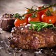 Delicious beef steak — Stock Photo #24435337