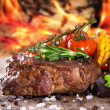 Delicious beef steak — Stock Photo #24435369