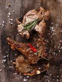Delicious lamb chops — Stock Photo