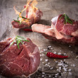 Premium Raw beef meat — Stock Photo