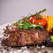 Delicious beef steak — Stock Photo #25206271