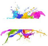 Colorido splash — Foto de Stock