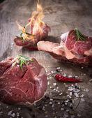 Premium Raw beef meat — Stock Photo