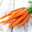 Fresh carrots — Stock Photo #25565301