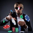 Poker player — Stock Photo #25892031