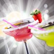 Fruit cocktails — Stock Photo