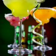 Fruit cocktails - Stock Photo