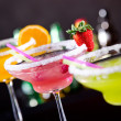 Stock Photo: Fruit cocktails