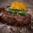 Stock Photo: Delicious beef steak