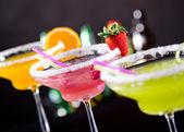 Fruit cocktails — Stock Photo