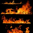 High resolution fire collection — Stock Photo #27610657