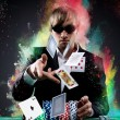 Poker player — Stock Photo #28015035