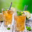 Glass of ice tea — Stock Photo #28201719