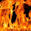 Stock Photo: Fire flame background