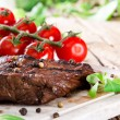 Delicious beef steak — Stock Photo #28627523