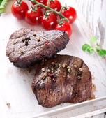 Delicioso bife — Foto Stock
