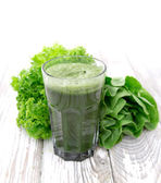 Healthy green juice — Stock Photo
