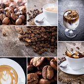Coffee collection — Stock Photo
