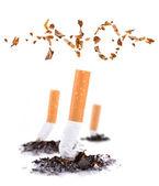 Cigarette butt — Stock Photo