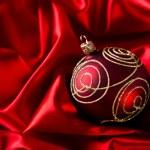 Red luxury satin — Stock Photo