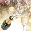 Champagne explosion — Stock Photo #34720329