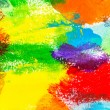 Abstract acrylic colors — Stock Photo