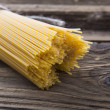 Stock Photo: Bundle of long spaghetti