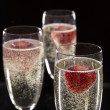 Pair of champagne flutes — Stock Photo #34729459