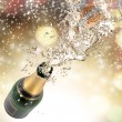 Champagne explosion — Stock Photo #34780617