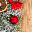 Christmas fir tree — Stockfoto #34782495