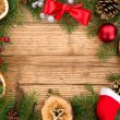 Christmas fir tree — Stockfoto