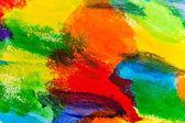 Streszczenie akryl kolory — Zdjęcie stockowe