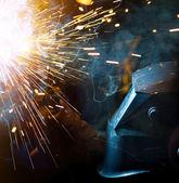 Svářeč v akci — ストック写真