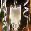Pair of champagne flutes — Stock Photo #35677493