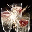 Pair of champagne flutes — Stock Photo #35677557