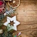 Christmas fir tree — Stock Photo