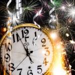 New Year celebration theme — Stock Photo
