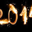 Happy new year 2014 — Stock Photo #36076947