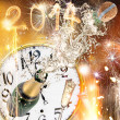 New Year celebration theme — Stock Photo