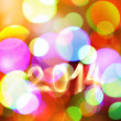 Stock Photo: Abstract New year background