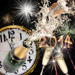Champagne explosion — Stock Photo #36088397