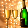 Pair of champagne flutes — Stock Photo #36092055