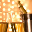 Pair of champagne flutes — Stock Photo #36100601