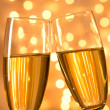 Pair of champagne flutes — Stock Photo #36105039
