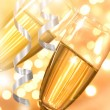 Pair of champagne flutes — Stock Photo #36496485
