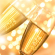 Pair of champagne flutes — Stock Photo #36496515